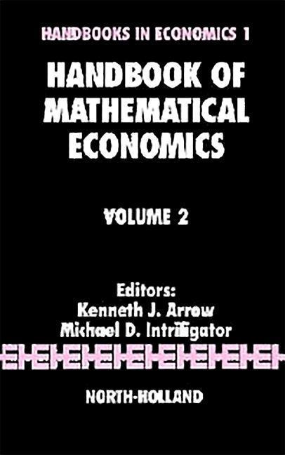 Handbook of Mathematical Economics als Taschenbuch