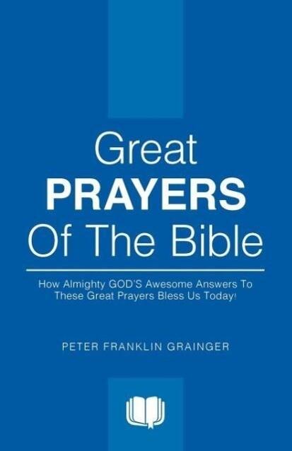 Great Prayers of the Bible als Taschenbuch