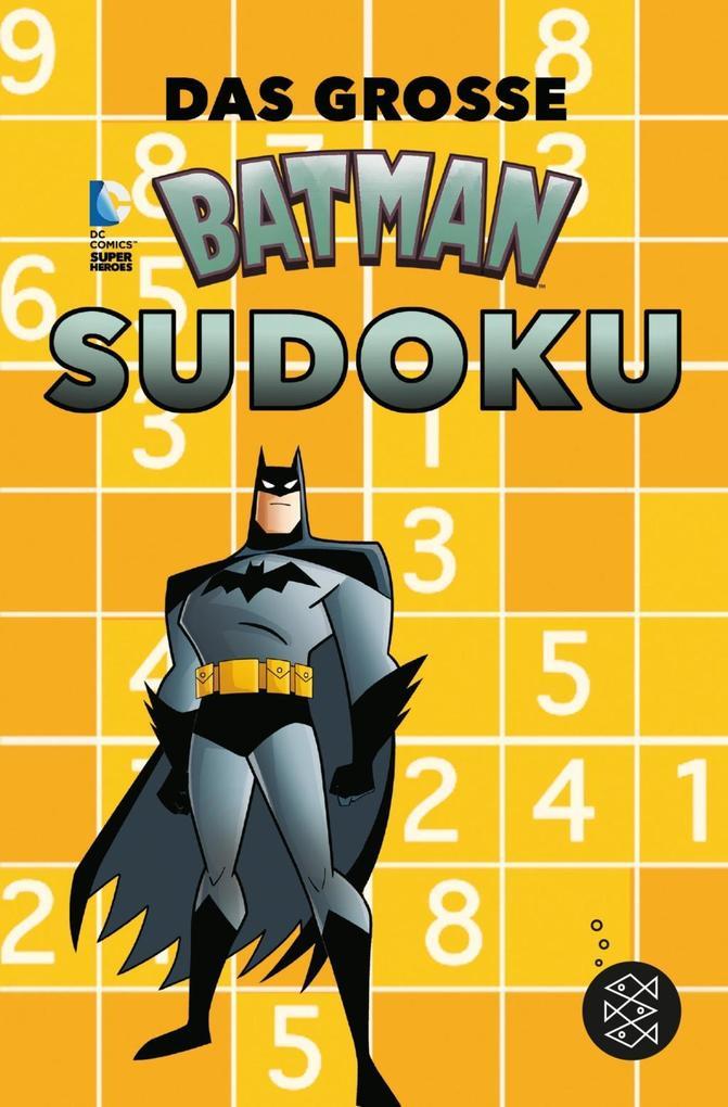Das große Batman-Sudoku als Taschenbuch von