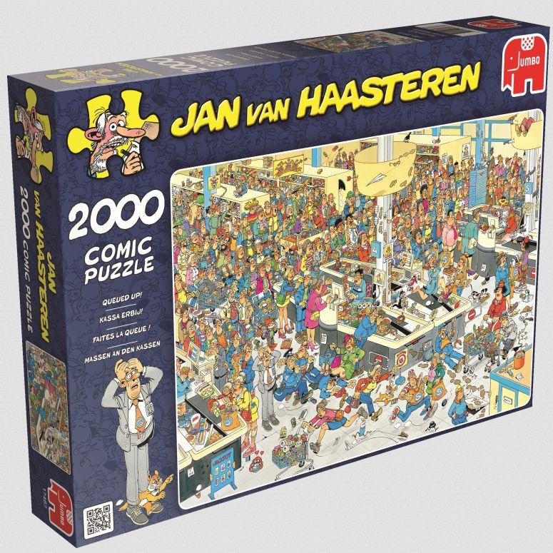 Jumbo Spiele - Jan van Haarsteren - Massen an d...