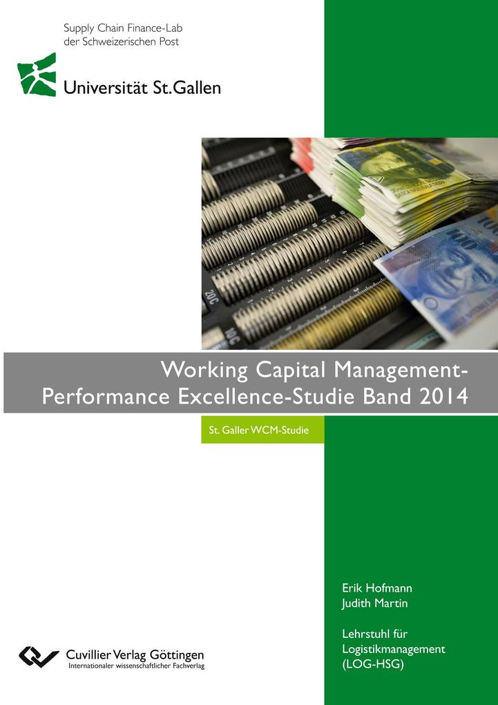 Working Capital Management- Performance Excellence-Studie Band 2014 als Buch (gebunden)