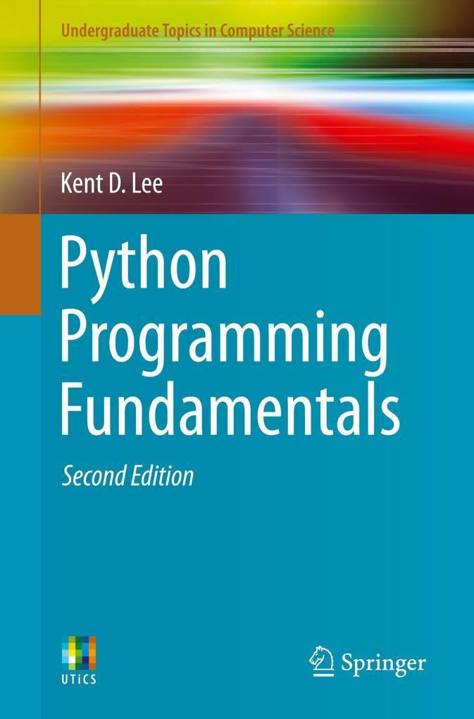 Python Programming Fundamentals als Buch (gebunden)