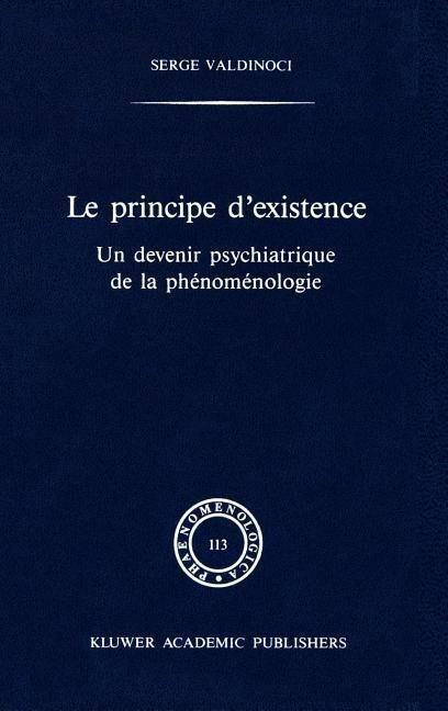 Le principe d'existence als Buch