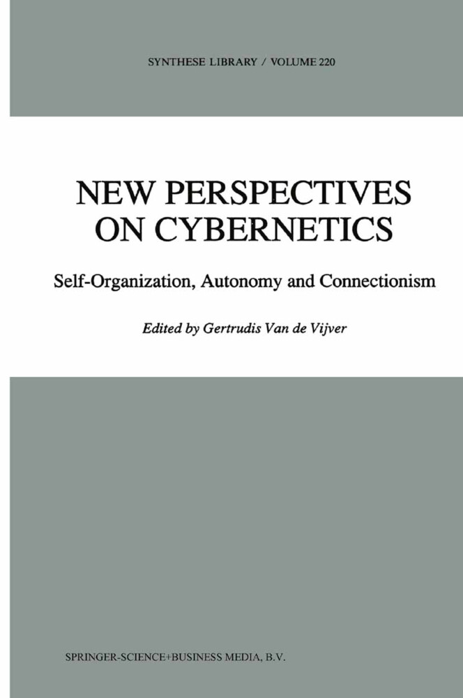 New Perspectives on Cybernetics als Buch