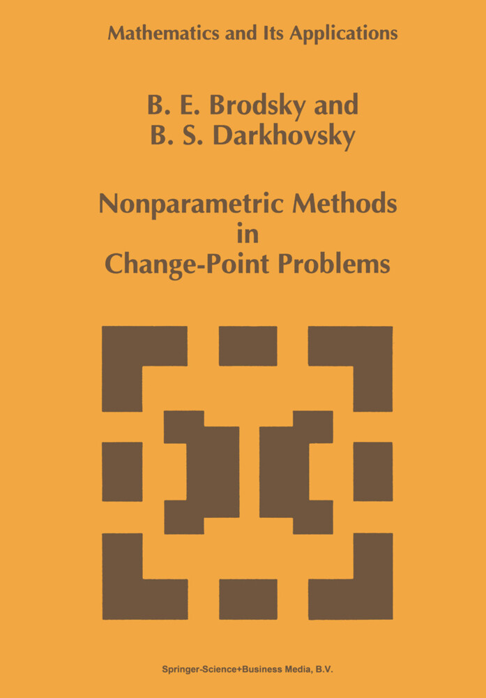 Nonparametric Methods in Change Point Problems als Buch