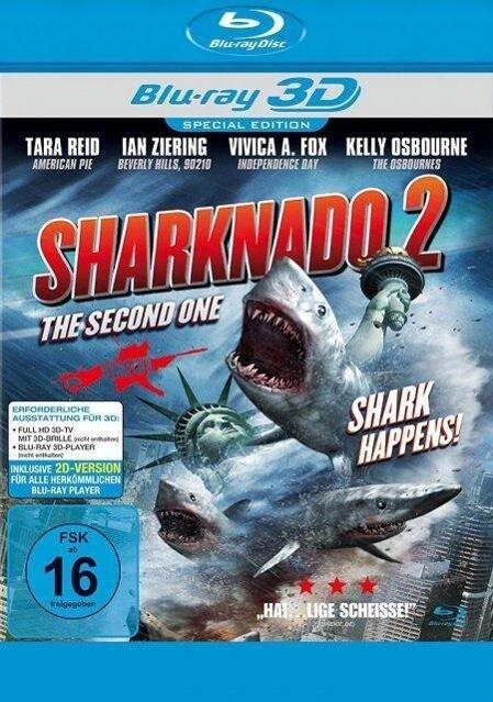 Sharknado 2 - The Second One - Shark Happens! als Blu-ray