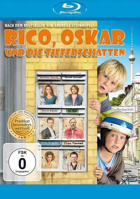 Rico, Oskar 01 und die Tieferschatten als DVD