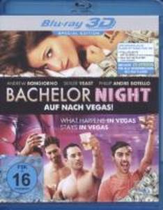 Bachelor Night:Auf nach Vegas! (3D) als Blu-ray