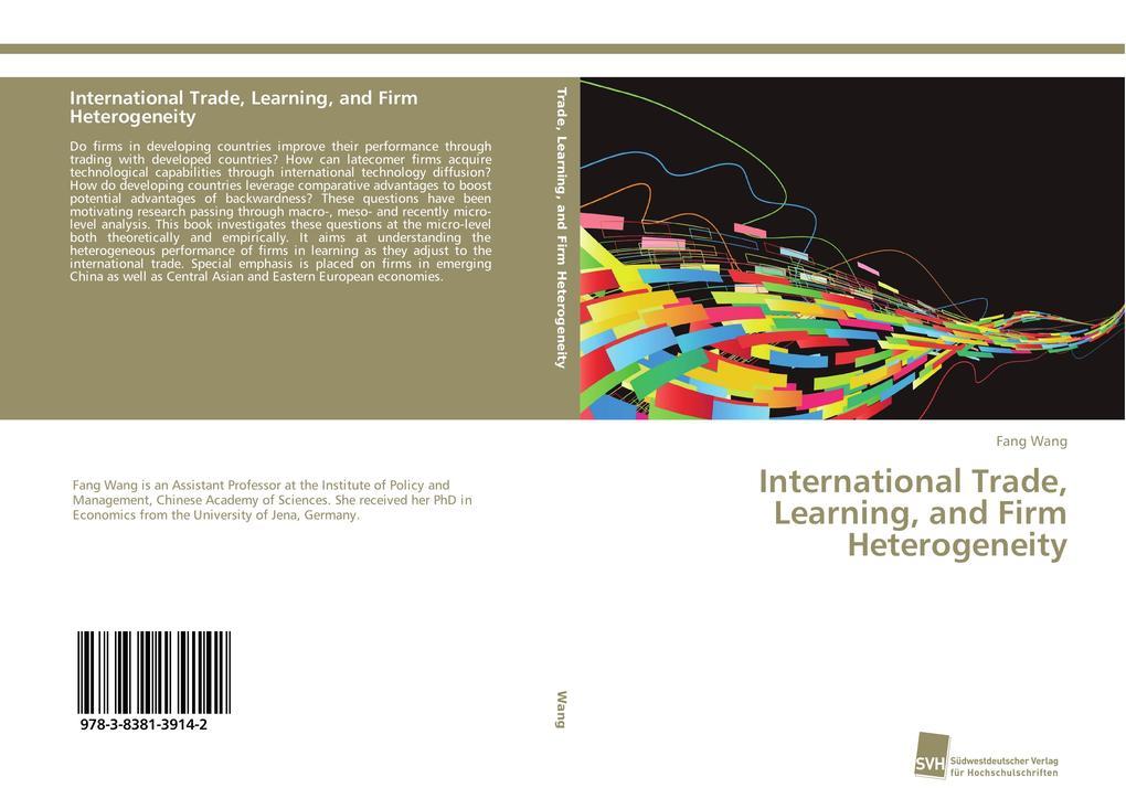 International Trade, Learning, and Firm Heterogeneity als Buch (gebunden)