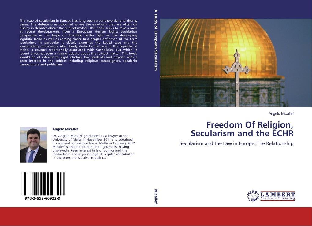 Freedom Of Religion, Secularism and the ECHR al...