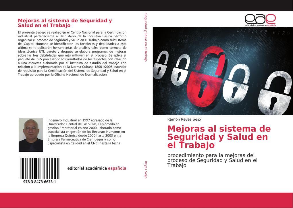 Mejoras al sistema de Seguridad y Salud en el Trabajo als Buch (gebunden)