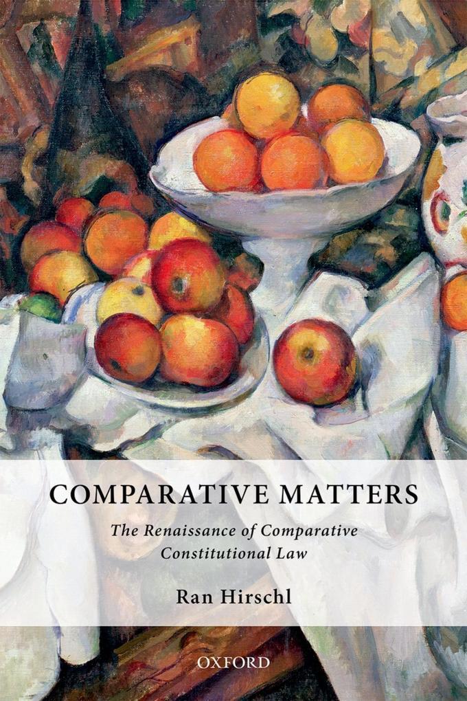 Comparative Matters als eBook Download von Ran ...