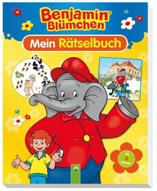 Benjamin Blümchen - Mein Rätselbuch als Buch