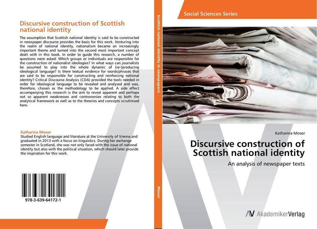 Discursive construction of Scottish national identity als Buch (gebunden)