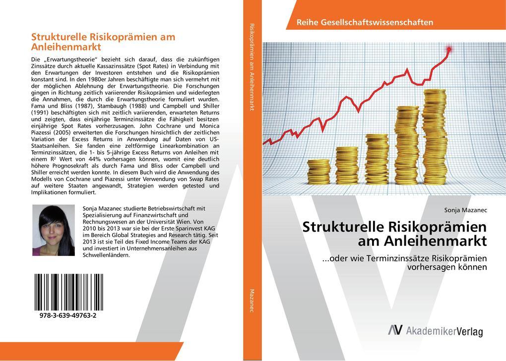 Strukturelle Risikoprämien am Anleihenmarkt als Buch (gebunden)