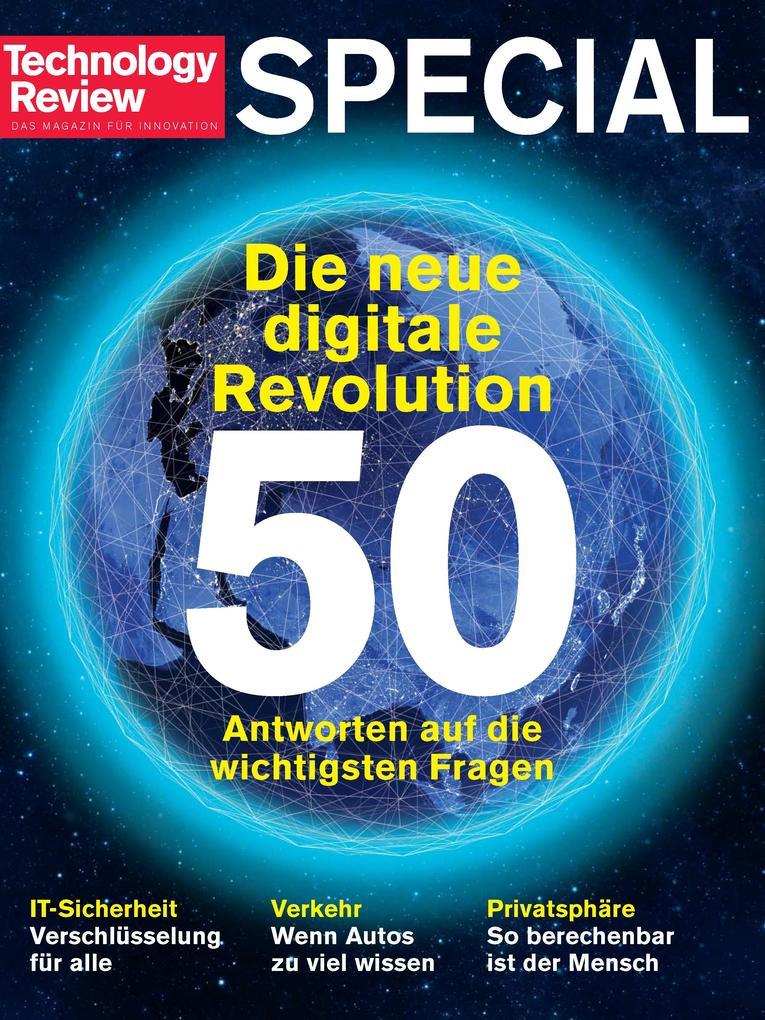 Die neue Digitale Revolution (Technology Review) als eBook pdf