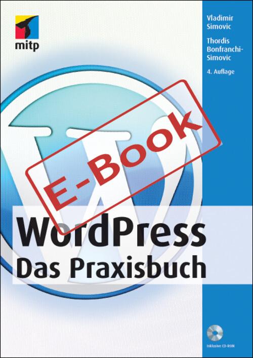 WordPress - Das Praxisbuch als eBook pdf