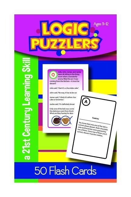 Logic Puzzlers for Ages 11-12 als Taschenbuch