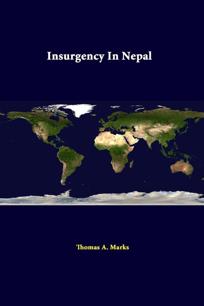 Insurgency In Nepal als Taschenbuch