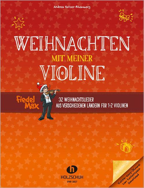 Weihnachten mit meiner Violine als Buch (geheftet)