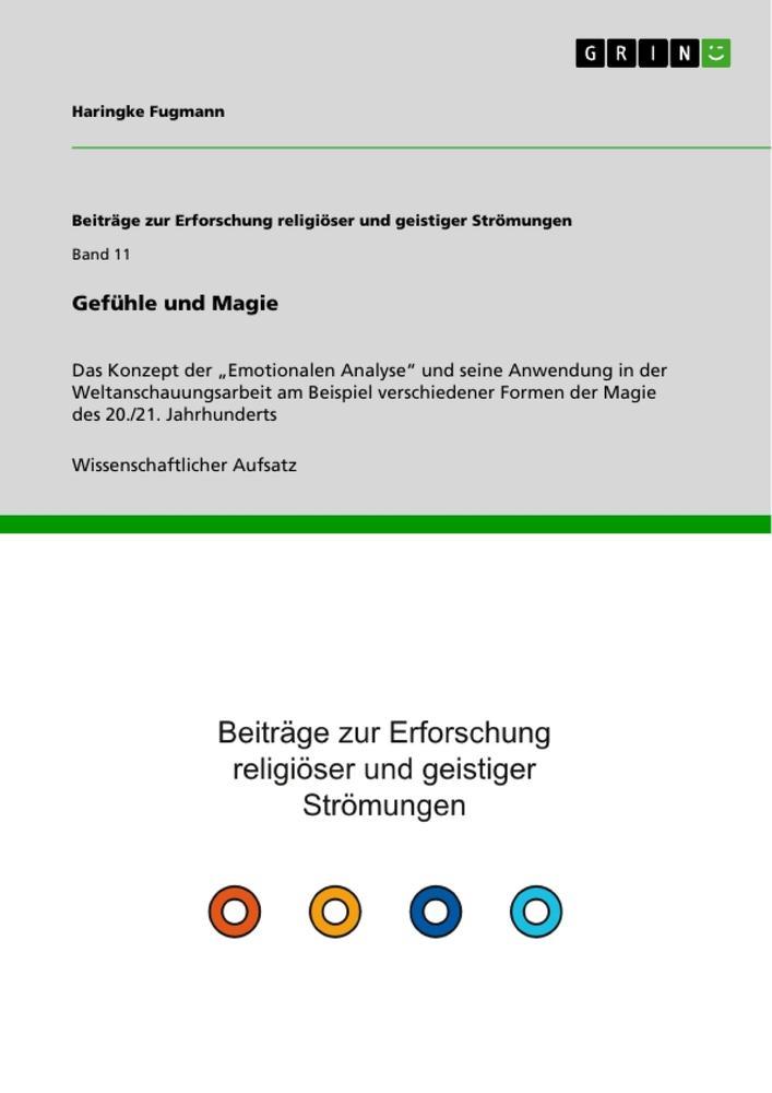 Gefühle und Magie als Buch von Haringke Fugmann