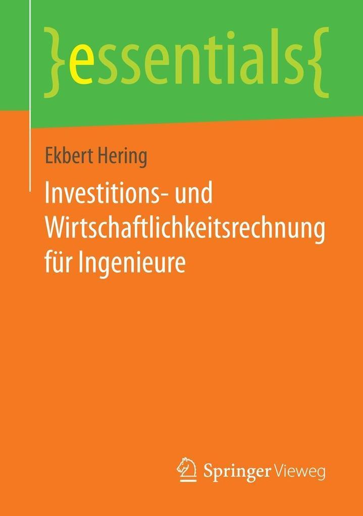 Investitions- und Wirtschaftlichkeitsrechnung f...