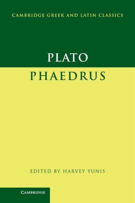 Plato: Phaedrus als eBook epub