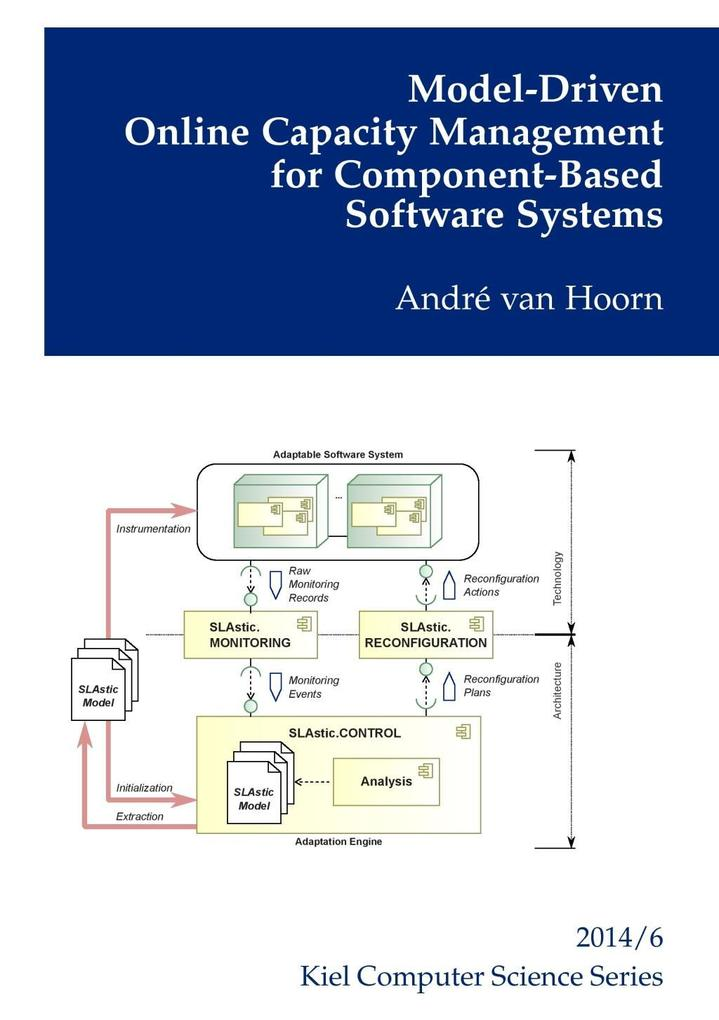 Model-Driven Online Capacity Management for Component-Based Software Systems als eBook epub