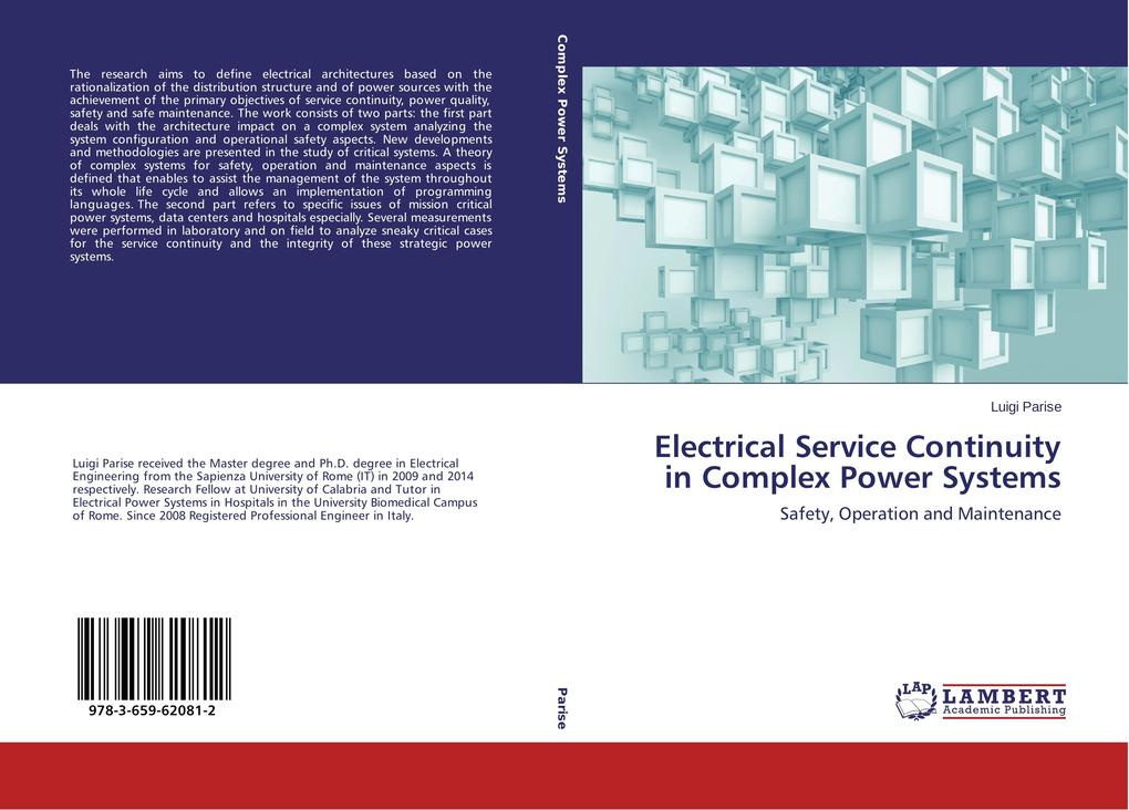 Electrical Service Continuity in Complex Power Systems als Buch (gebunden)