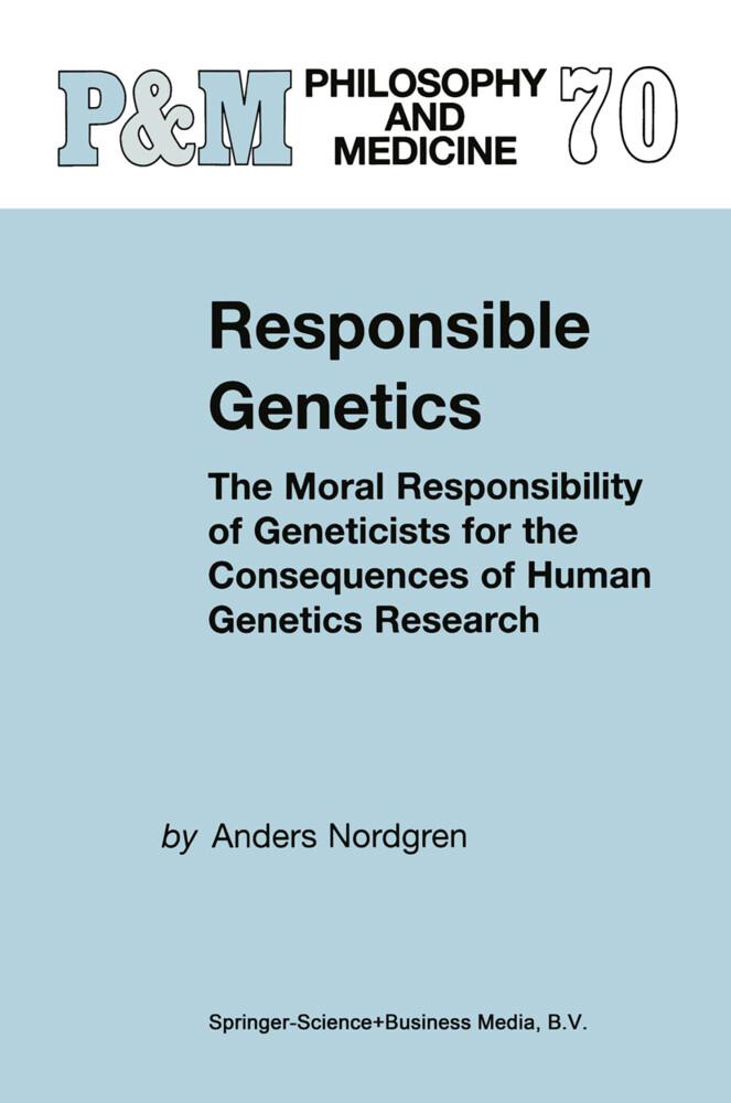Responsible Genetics als Buch