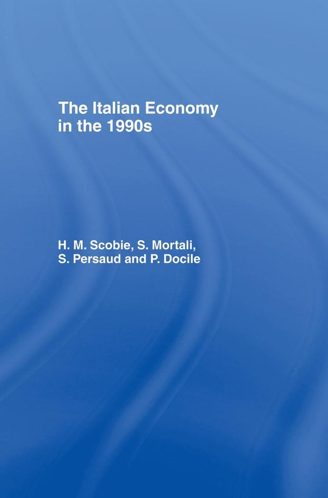 The Italian Economy in the 1990s als eBook epub