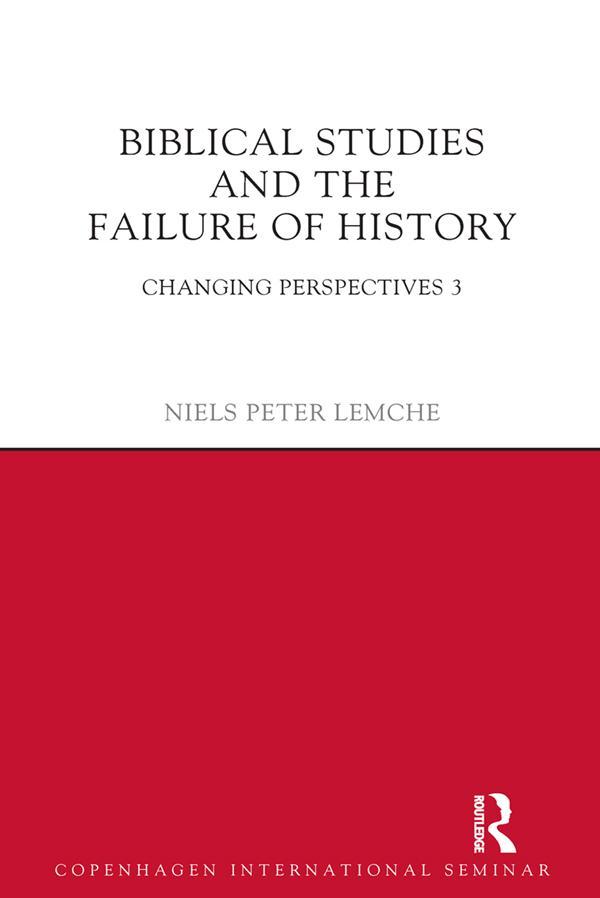 Biblical Studies and the Failure of History als eBook epub