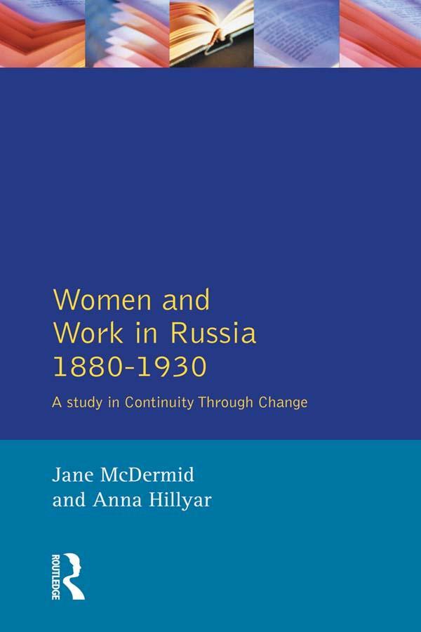 Women and Work in Russia, 1880-1930 als eBook pdf