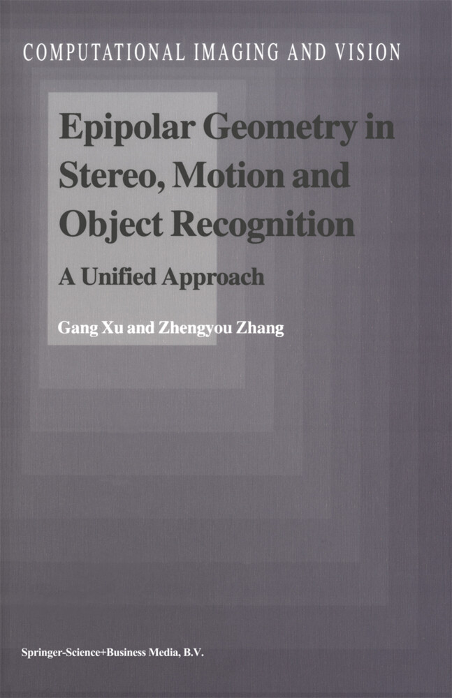Epipolar Geometry in Stereo, Motion and Object Recognition als Buch