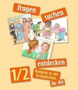 Fragen-suchen-entdecken 1/2 Baden-Württemberg als Buch (gebunden)