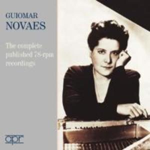 Guiomar Novaes-Sämtliche 78-rpm-Aufnahmen als CD