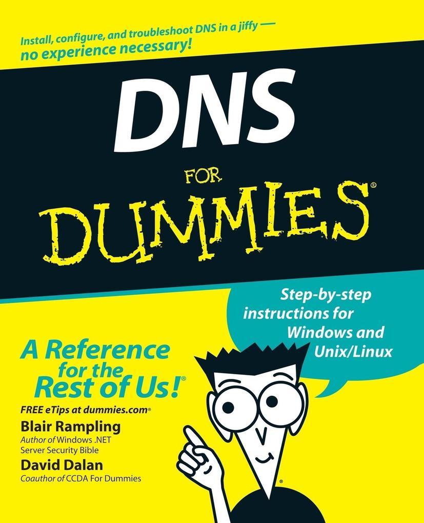 DNS for Dummies als Taschenbuch