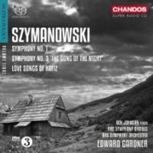 Sinfonien Nrn.1 & 3/Love Songs of Hafiz,op.26 als CD