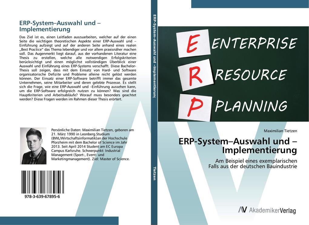 ERP-System-Auswahl und -Implementierung als Buch (gebunden)