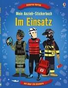 Mein Anzieh-Stickerbuch: Im Einsatz