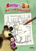 Mascha und der Bär - Mal- und Rätselspaß