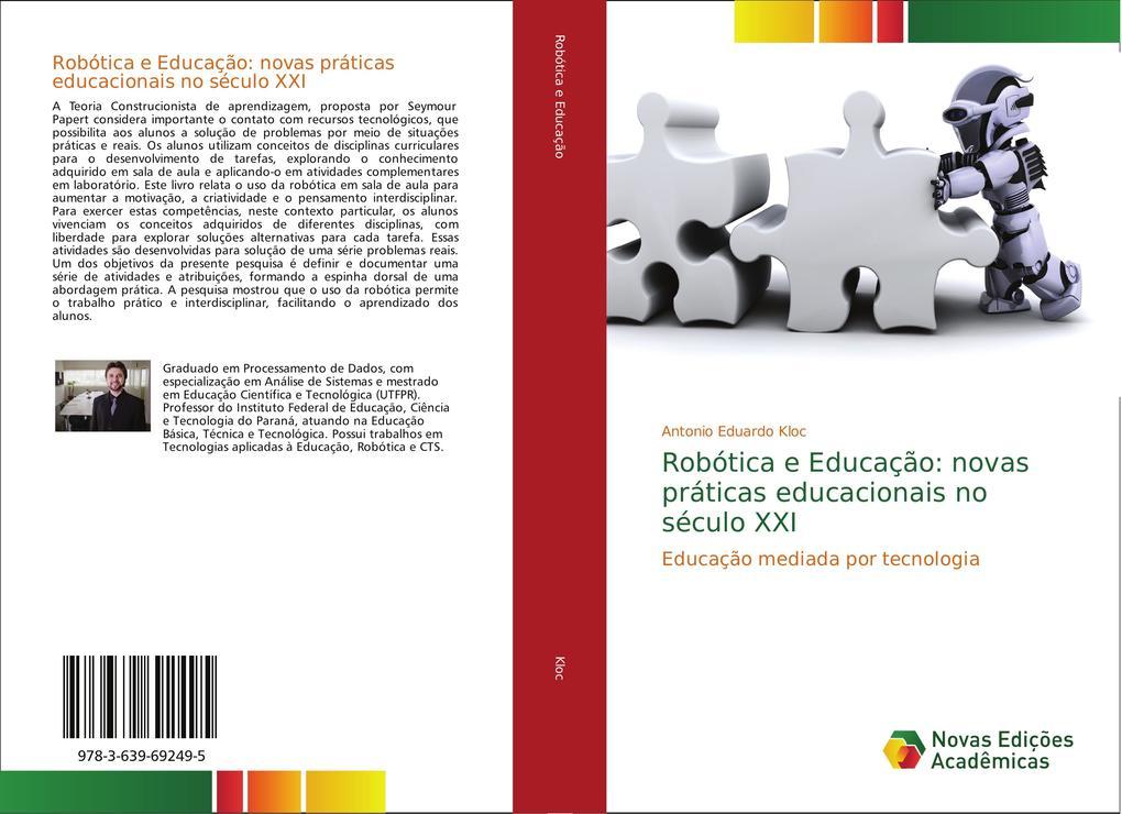 Robótica e Educação: novas práticas educacionais no século XXI als Buch (gebunden)
