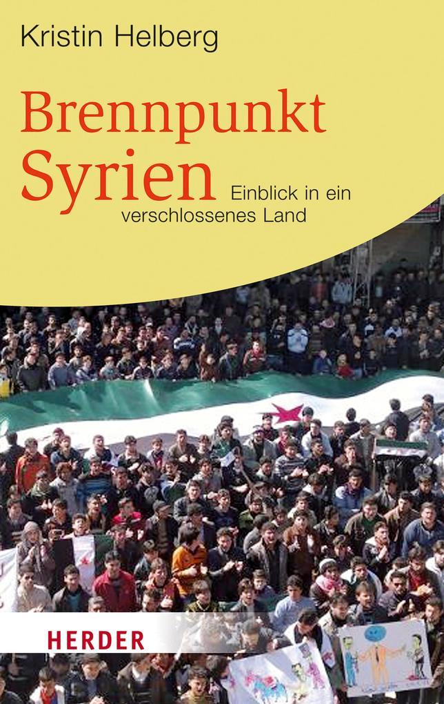 Brennpunkt Syrien als eBook Download von Kristi...