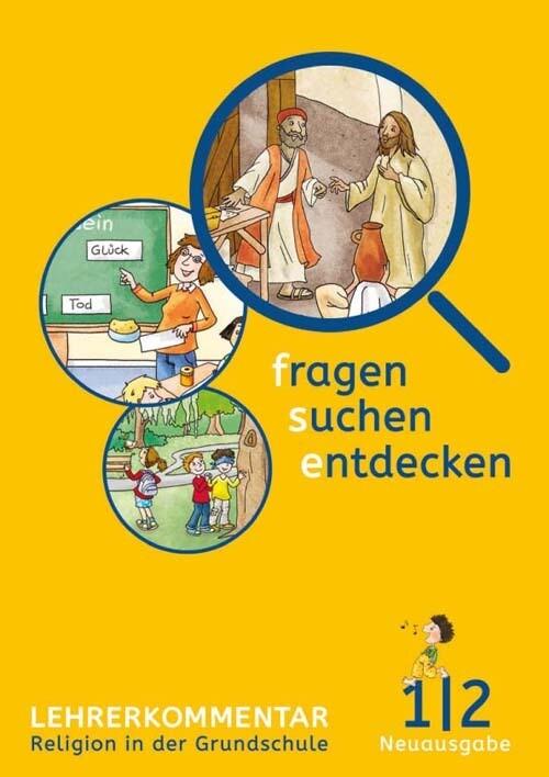 fragen - suchen - entdecken. Ausgabe für Bayern. Lehrerband 1./2. Schuljahr als Buch (gebunden)
