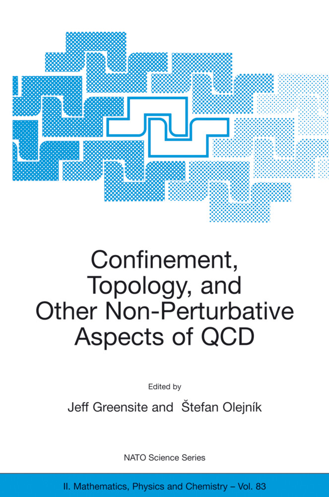 Confinement, Topology, and Other Non-Perturbative Aspects of QCD als Buch
