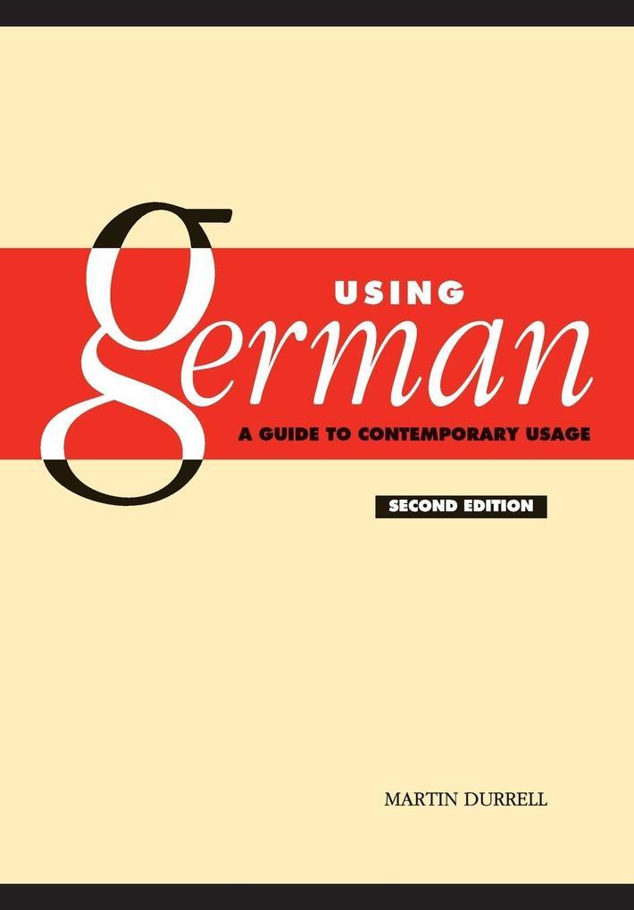 Using German als Buch