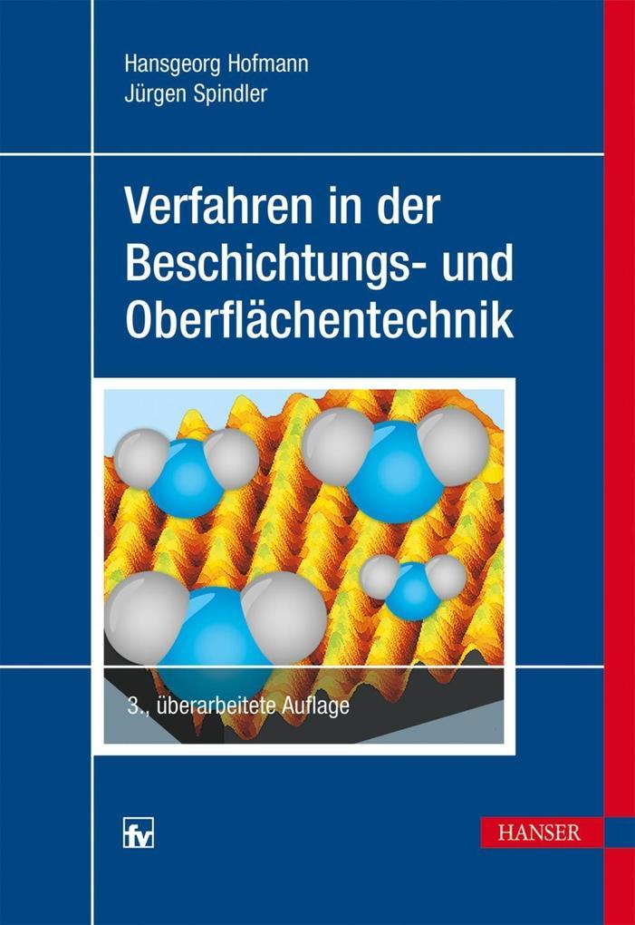 Verfahren in der Beschichtungs- und Oberflächentechnik als eBook pdf