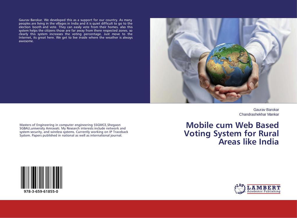 Mobile cum Web Based Voting System for Rural Areas like India als Buch (gebunden)