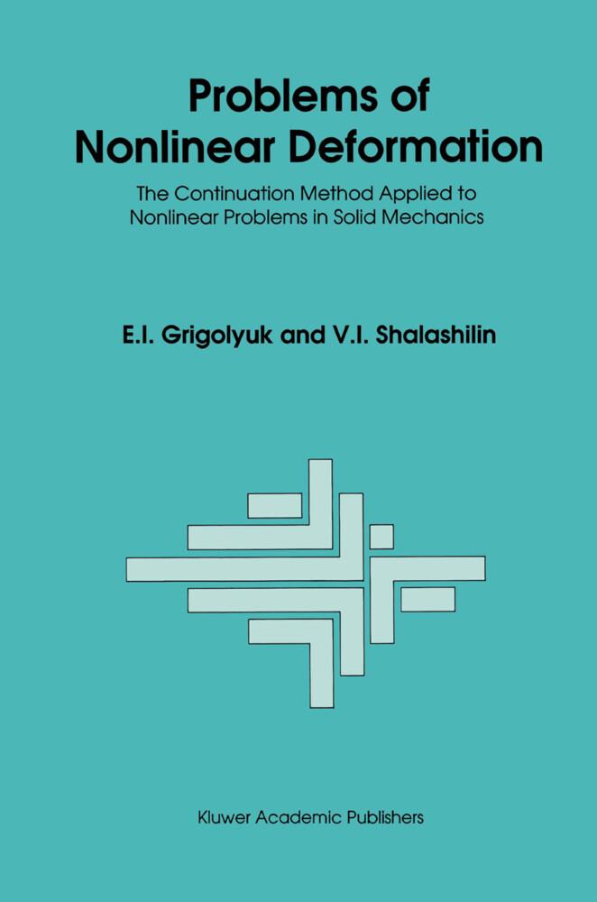 Problems of Nonlinear Deformation als Buch