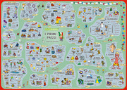 mindmemo Lernposter - I primi passi - Italienisch für Einsteiger - Vokabeln lernen mit Bildern - Zusammenfassung